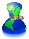 Crisis mundial Imágenes de archivo libres de regalías