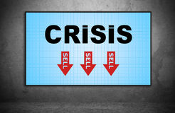Crisis Royalty Free Stock Photography