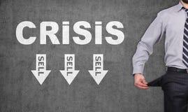 Crisis symbol Stock Photography