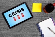 Crisis symbol Stock Image