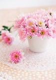 crisântemos cor-de-rosa Fotos de Stock Royalty Free