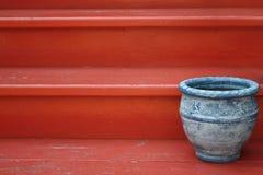 Crisol azul Fotos de archivo