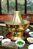 Crisol caliente chino Fotos de archivo libres de regalías