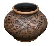 Crisol de cerámica Imagen de archivo libre de regalías