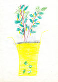 Crisol de flor Imagen de archivo libre de regalías