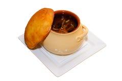 Crisol de sopa Imagen de archivo
