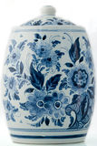 Crisol del azul de Delft imagen de archivo