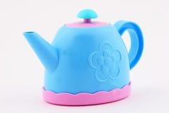 Crisol del té del juguete Fotografía de archivo