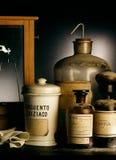 Crisol viejo de los boticarios Fotografía de archivo libre de regalías