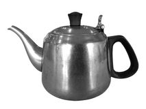 Crisol viejo del té Fotografía de archivo