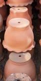 Crisoles de cerámica Fotos de archivo libres de regalías