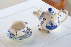 Crisoles de cerámica Imagenes de archivo