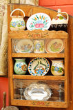 Crisoles de cerámica tradicionales rumanos fotografía de archivo libre de regalías