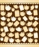 crisoles de cerámica del té Fotografía de archivo libre de regalías