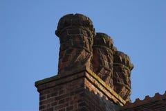Crisoles de chimenea de lujo del Victorian Fotos de archivo libres de regalías
