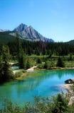 Crisoles de la tinta, parque nacional de Banff Foto de archivo libre de regalías