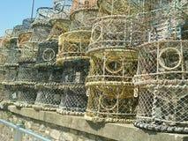 Crisoles de langosta en Brighton Fotografía de archivo