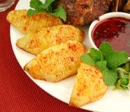 Crisp Baked Potatoes Stock Photos