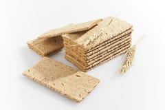 Crisp bread. Healthy light food Royalty Free Stock Photo