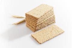 Crisp bread. Healthy light food Stock Photos