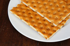 Crisp bread Stock Photo