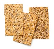Crisp Bread with Linseed, Sesame and Sunflower Seed Stock Photography