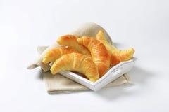 Crisp butter crescent rolls Royalty Free Stock Images