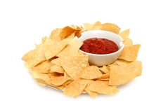 Crisp chips Royalty Free Stock Photo