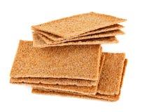 Crisp crackers Royalty Free Stock Photos
