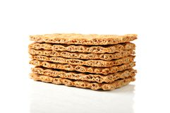 Crisp diet breads Stock Photos