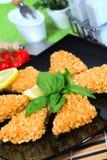 Crisp fish Royalty Free Stock Photos