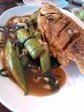 crisp-fried fish Stock Photos