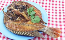 Crisp-fried fish Royalty Free Stock Images