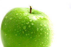 Crisp green apple Royalty Free Stock Images