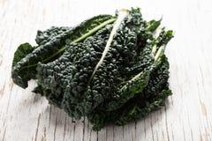 Crisp organic green lacinato kale Royalty Free Stock Image