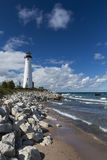 Crisp Point Lighthouse Royalty Free Stock Image