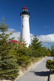 Crisp Point Lighthouse Royalty Free Stock Photography