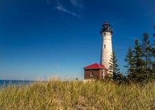 Crisp Point Lighthouse Stock Photos
