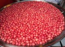 Crisp pomegranate seeds Stock Photos