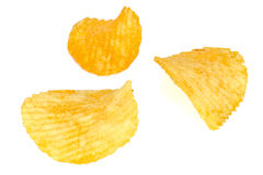 Crisp potato chips Royalty Free Stock Photo