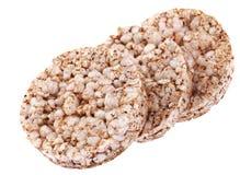 Crisp round bread Stock Photos