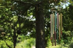 Chimed. Crisp shot of windchimes Royalty Free Stock Photos