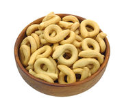 Crisp Small Round Pretzel Loops Stock Photos