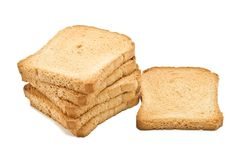 Crisp toast Royalty Free Stock Photo