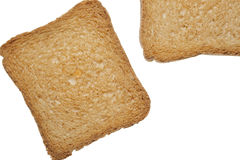 Crisp toasts Royalty Free Stock Image