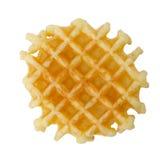 Crisp waffle Royalty Free Stock Images