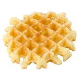 Crisp waffle Royalty Free Stock Image