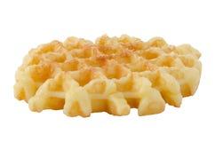 Crisp waffle Stock Image