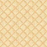 Crisp waffles pattern seamless texture. EPS 10 vector illustration royalty free illustration