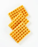 Crisp waffles Stock Photography